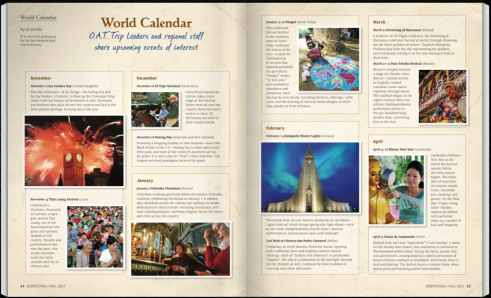 Dispatches Fall World Calendar - Page 1